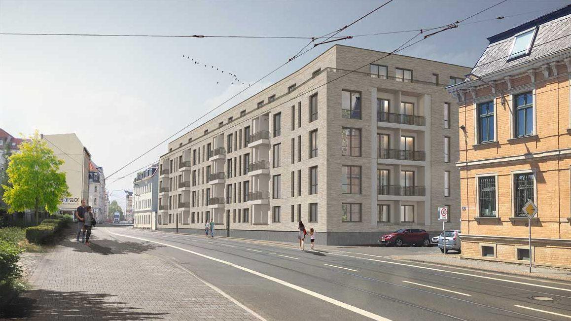 Leipzig Stötteritz Neubau Wohnungen